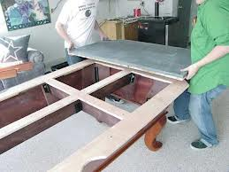 Pool table moves in Louisville Kentucky