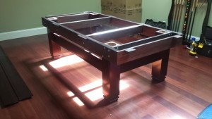 Correctly performing pool table installations, Louisville Kentucky