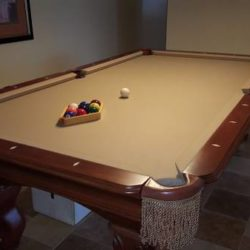 Ambrosia 8 FT Pool Table (SOLD)