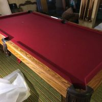 8' Steepleton Pool Table