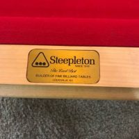 Awesome Vintage Steepletons Pool Table