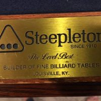 Steepleton Billiards Table and Accessories