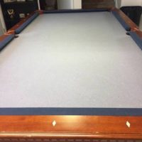 Cannon Claw Foot Pool Table, Table Light, And Stick Holder