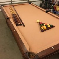 Steepleton 8' Pool Table
