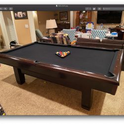 Custom Brunswick Pool Table